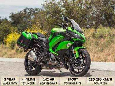 Kawasaki ninja 1000 T free Akrapovic(Apply Online)