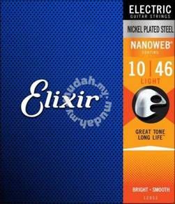 Elixir Strings Electric Nanoweb Gauge 10