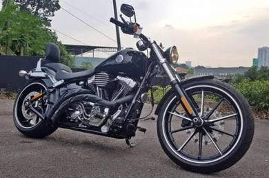 Harley Davidson FXSB1580 Breakout unreg 2013