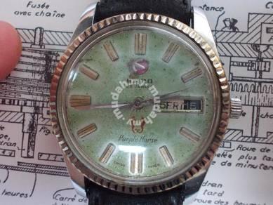 Vintage Rado purple horse automatic watch