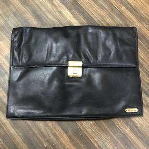 Paolo Celli Leather Document Bag