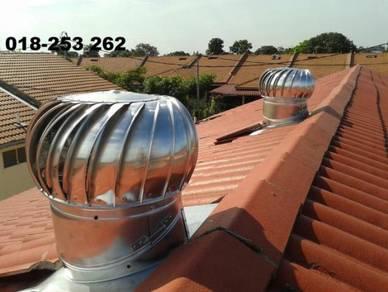 Kipas bumbung bersama Air vent