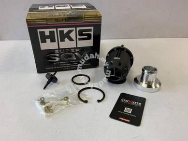 HKS Super SQV Black Edition Adjustable Blow Off