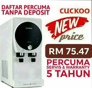 Penapis Air CUCKOO Water Filter Kampar
