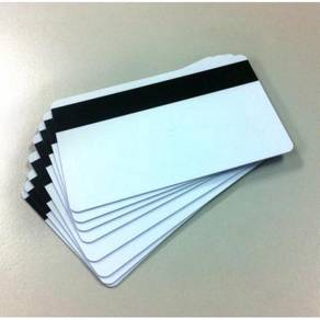 10x Blank Magnetic Cards