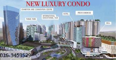 New luxury condo with township-nilai