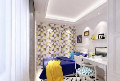 Interior design layout plan & 3d design