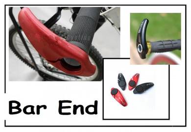 Comfortable Bicycle Bar End - Red