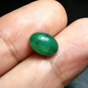 Batu Zamrud Zambia Asli | Emerald E26