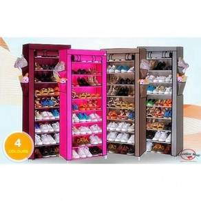 10 tier shoe rack / rak kasut 11