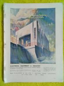 119 Antik iklan lama gold flake dr majalah 1953