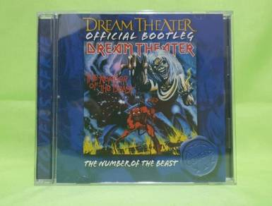 Dream Theater NUMBER OF THE BEAST bootleg 2005 CD