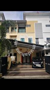 20 x 70 triple storey house klang