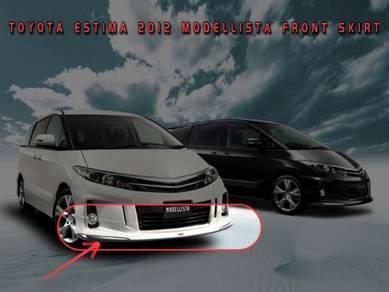 Toyota estima aeras 2012 modellista front skirt