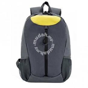 Bag Backpack Yellow Print Logo dan Tulisan