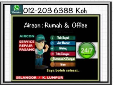Aircond Pantas Aircon PJ&Sel- Ampang Hilir dll