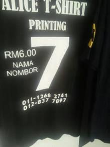 T shirt printing.area kota marudu.