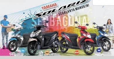 Yamaha ego solariz (super jimat!!)
