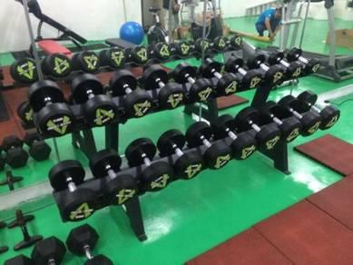 Fix dumbell gym TAHAN LASAK NEW