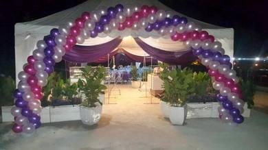 Wedding Arch Balloon Deco 00137