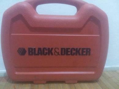 Black & Decker battery screw drill