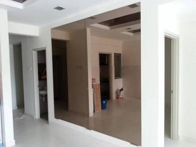 MIRROR CERMIN DINDING l wall custom mirror