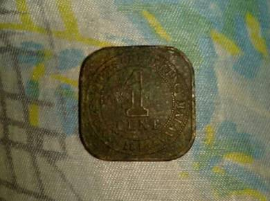 Coin 1 Cent Malaysia