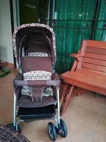 Double stroller for kids