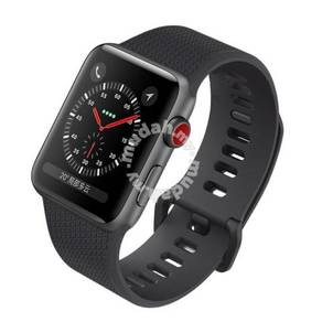 Apple Watch Full Black Premium Rugged Band