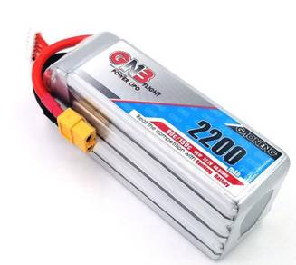 Gaoneng GNB 22.2V 2200mAh 80C 6S Lipo Battery