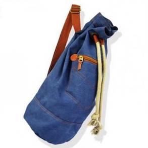 B172 Crossbody Men's Bucket Denim Bag Backpack
