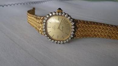 Omega De Ville Lady Diamond Watch