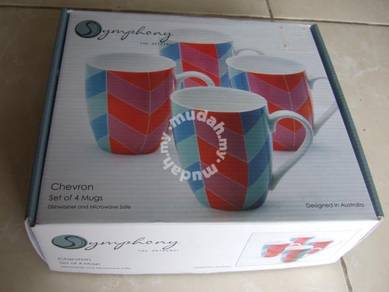 Symphony Mugs Set of 4 (Australia)