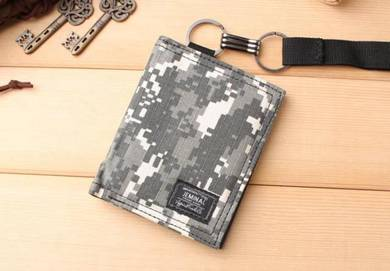 Jeminal camouflage canvas wallet C ab159