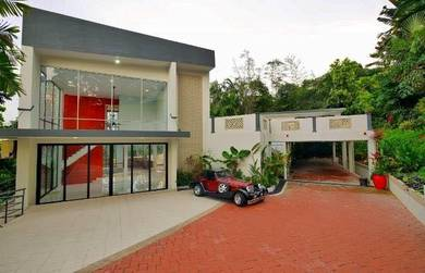 Bukit tunku (kenny hills) bungalow with pool 19700sf & private balcony