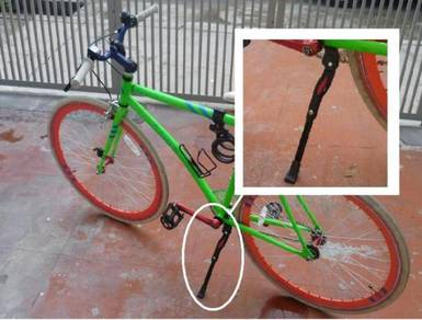 Adjustable Bicycle Stand