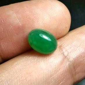 Batu Zamrud Zambia Asli | Emerald E27