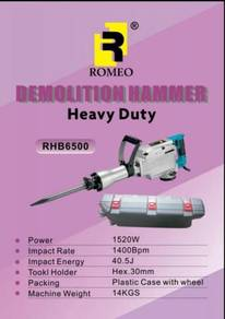 Romeo rhb6500 heavy duty demolition hammer
