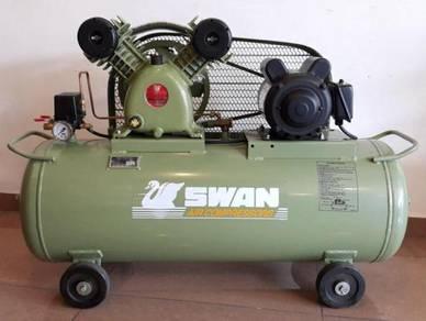 Swan SVP202 2HP 85Liter 8Bar Air Compressor (Made