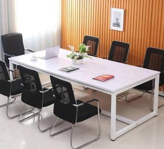 Meeting / Discussion Solid Steel Leg Table