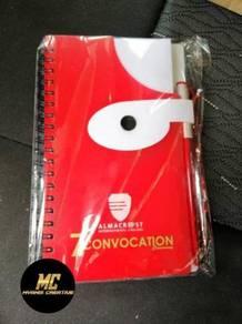 Notebook & Woven Bag Berkualiti