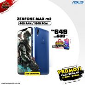 Asus Zenfone Max M2 [ 4+32GB ] Promo