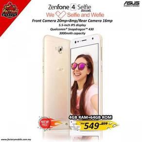 Promo> Asus Zenfone 4 Selfie [4+64gb] New