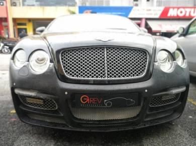 Bentley continental GT ASI bodykit Bentley bumper