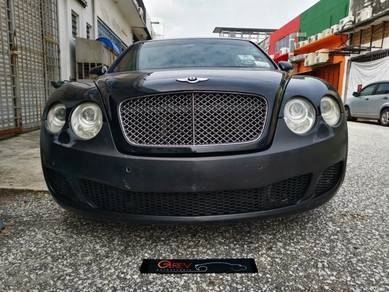 Bentley continental gt front bumper bentley bumper