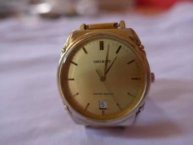 Orient Quartz Gold Watch