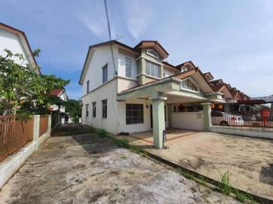 Double Storey End Lot Unit FOR RENT Taman Bukit Indah Jalan Indah 9