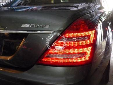 Mercedes S class W221 facelift LED tail lamp