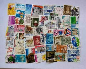 Holland all in big stamps selection 50 pcs BL176
