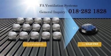 BE12-P FA Solar Powered Roof Ventilator Germany